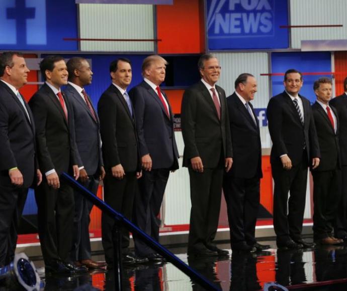העימות הטלוויזיוני של המועמדים הרפובליקנים לנשיאות