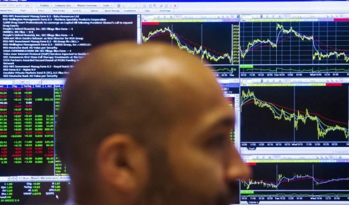 סוחר בבורסה של ניו יורק