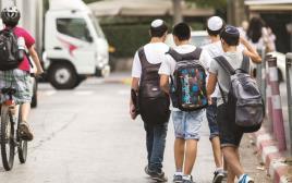 תלמידים במערכת החינוך הממלכתי דתי