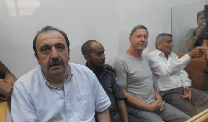 החשודים בפרשת השחיתות 242