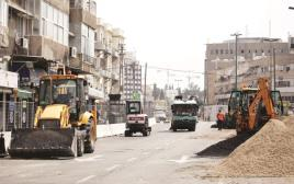 עבודות הרכבת הקלה בתל אביב