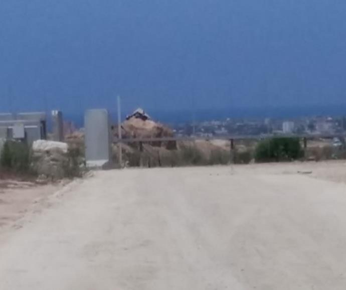 עמדת חמאס סמוך לגבול בין ישראל לרצועת עזה