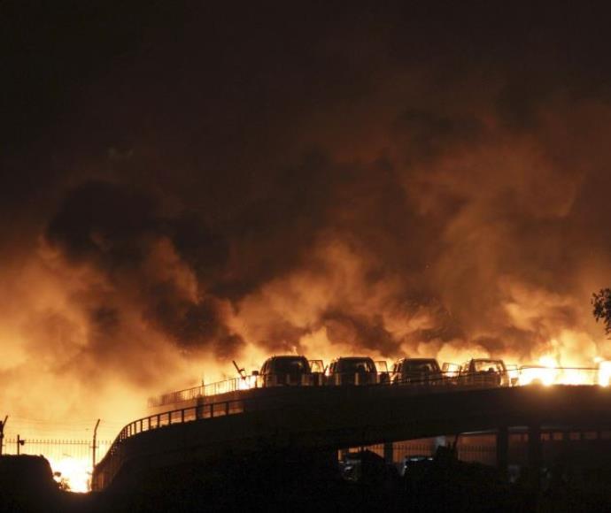 פיצוץ בטיאנג'ין, סין