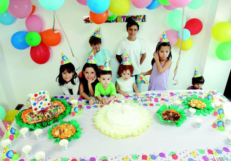 יום הולדת בגן ילדים
