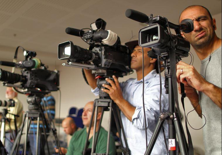 צלמים במסיבת עיתונאים, עיתונות, תקשורת
