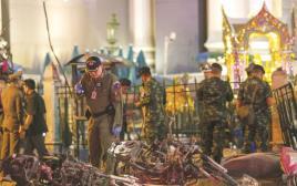 מקום הפיגוע בבנגקוק, תאילנד
