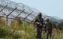 הגבול בין קוריאה הדרומית לצפונית
