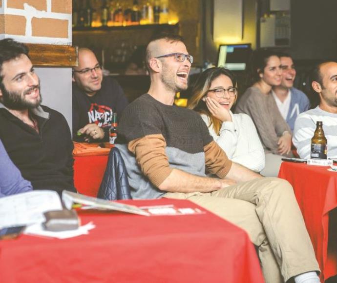 קהל בהופעת סטנדאפ