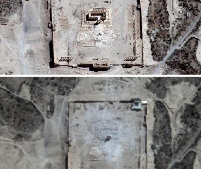 הרס המקדש בתדמור