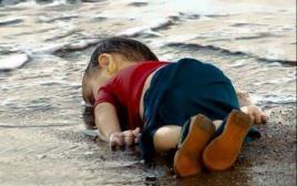 פעוט שברח מסוריה, טבע ונסחף לטורקיה