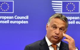 ראש ממשלת הונגריה ויקטור אורבן