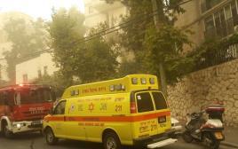 הבניין בירושלים בו נמצאו ההרוגים