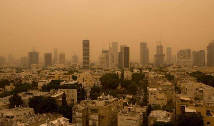 אובך בתל אביב