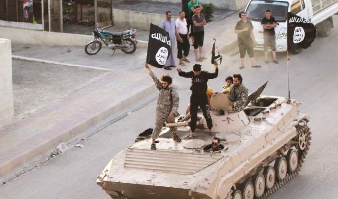 אנשי דאעש בסוריה