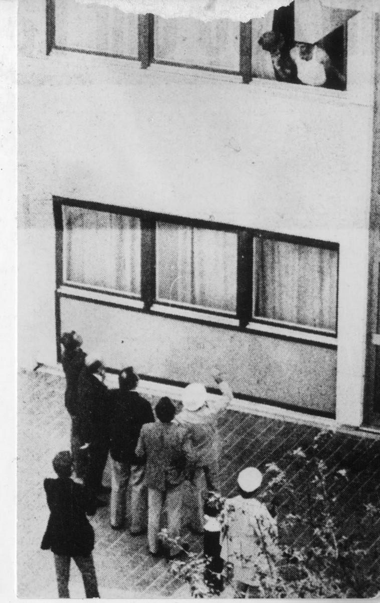 """הטבח שביצעו חברי """"ספטמבר בשחור"""" במינכן. צילום: רויטרס"""