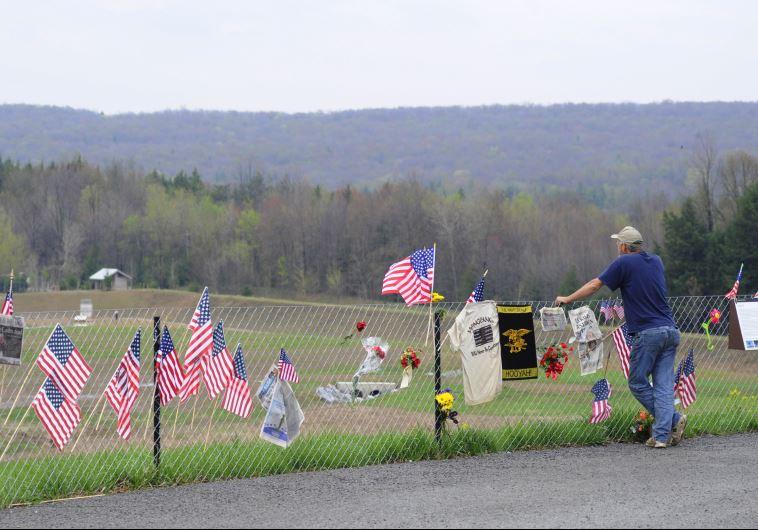פארק זיכרון לנפגעי אסון התאומים, פנסילבניה. ארכיון
