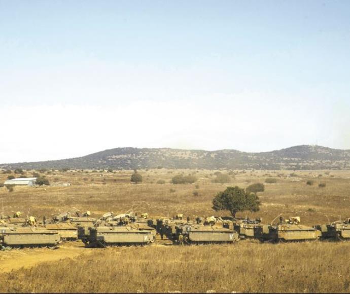"""כוחות צה""""ל סמוך לגבול הצפון"""