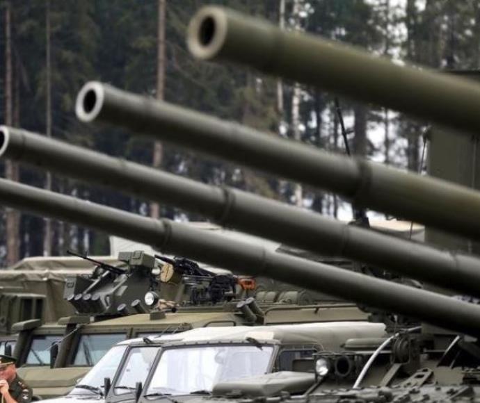 טנקים ורכבים של צבא רוסיה