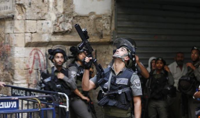 עימותים במתחם המסגד אל-אקצה בעיר העתיקה בירושלים