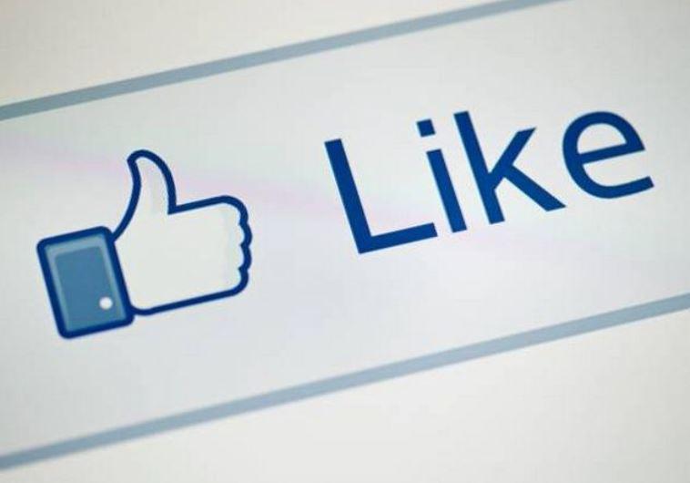 לייק, פייסבוק