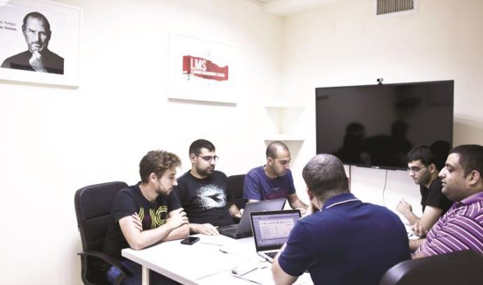 צוות הסטארט־אפ Edunation  בנצרת