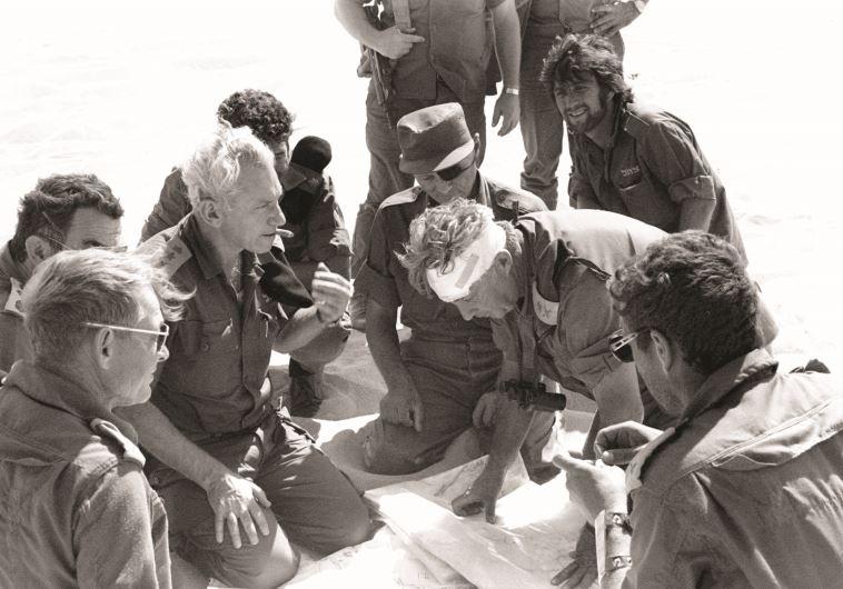 בר לב במלחמת יום הכיפורים. צילום: פלאש 90