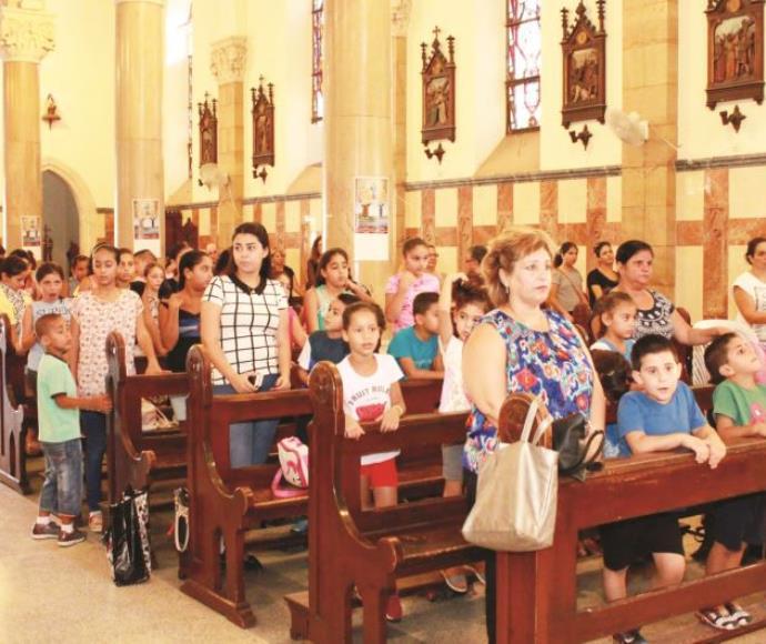 תפילת הזדהות למען בתי הספר הנוצריים ביפו