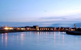 העיירה סלפוס באיסלנד