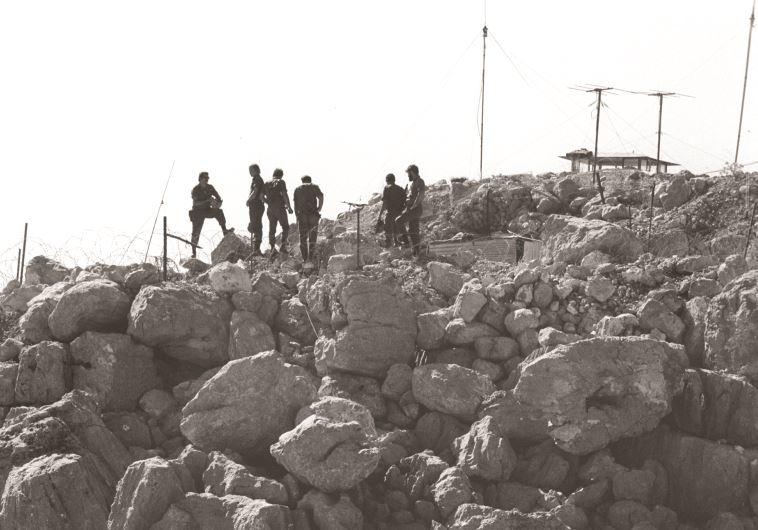 כביבוש החרמון במלחמת יום הכיפורים (צילום: ארכיון דו''צ)