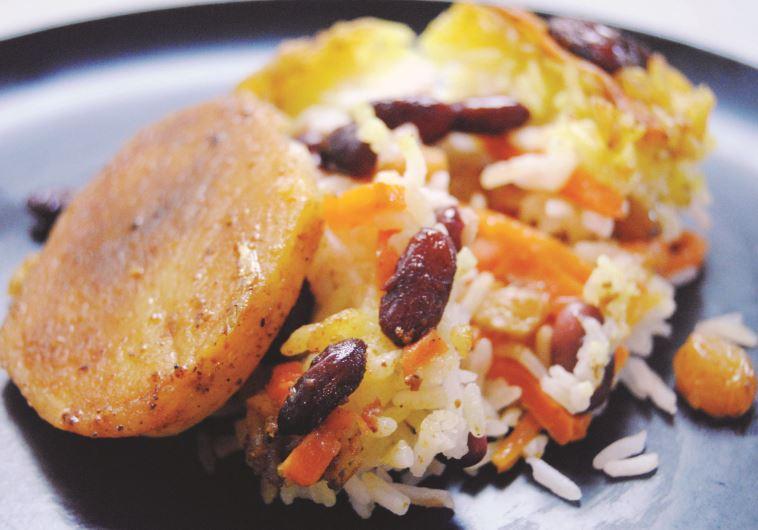 לשלב בתבשילים, אורז עם צימוקים. צילום: פסקל רובין פרץ