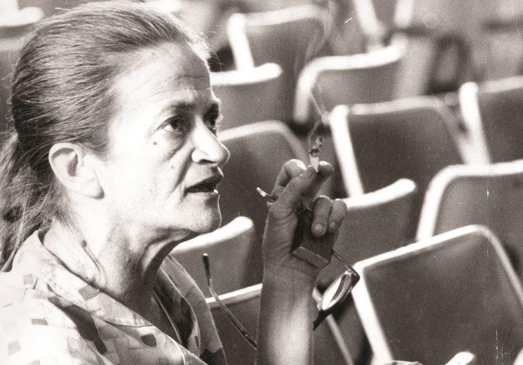 נעמי פולני 1978. צלם : יצחק ישמח