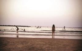 שחייה חופשית, טליה לוין