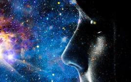 ילד מביט על היקום