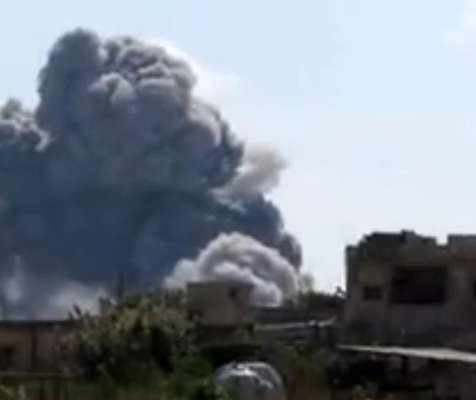 תקיפת רוסיה בסוריה