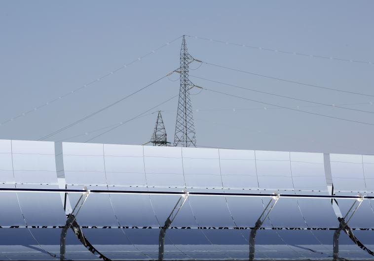 פאנלים של אנרגיה סולארית. צילום: רויטרס