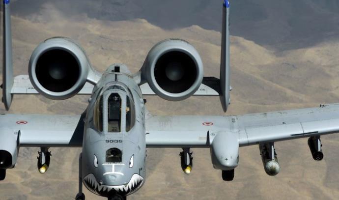 מטוס תקיפה של חיל האוויר האמריקאי באפגניסטן