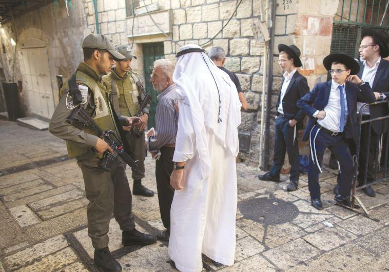 העיר העתיקה בירושלים, מפחידה תיירים מאז ימי בית שני. צילום: פלאש 90