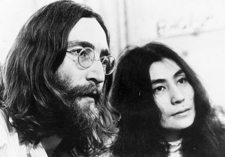 ג'ון לנון ויוקו אונו (צילום: Getty images)