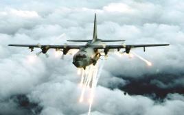 מטוס AC-130 של חיל האוויר האמריקאי