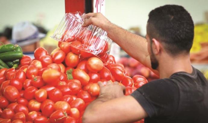 עגבניות, שוק הכרמל, פירות וירקות, ירקות, שוק