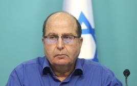 שר הביטחון משה יעלון