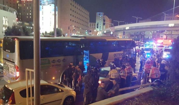 פיגוע דקירה וניסיון חטיפת נשק באוטובוס בכניסה לירושלים ירושלים