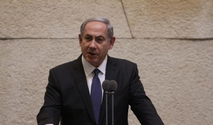ראש הממשלה בנימין נתניהו במליאת הכנסת