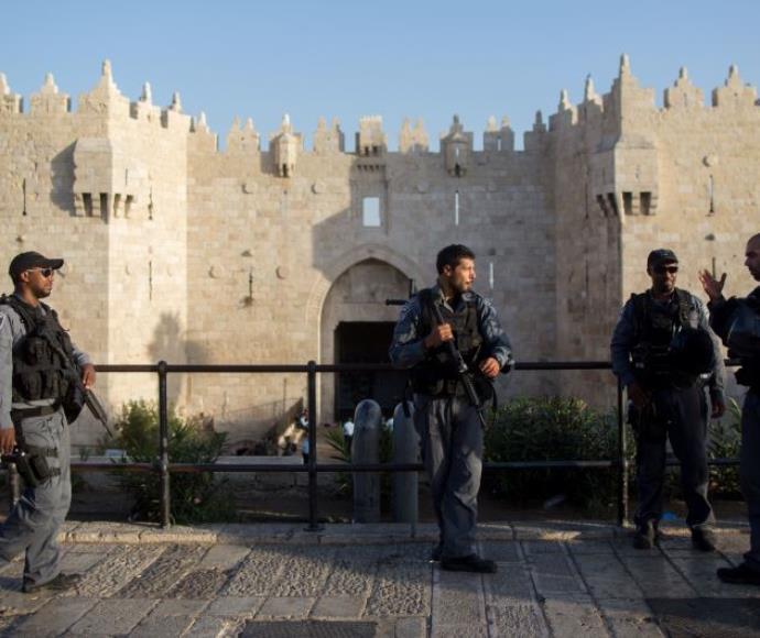 """שוטרי מג""""ב בירושלים, ארכיון"""