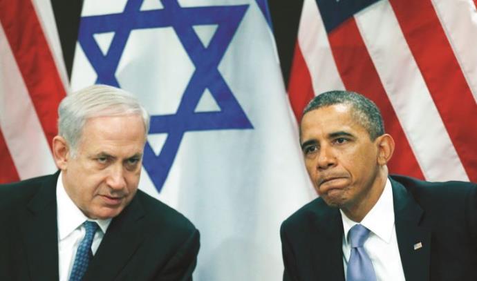 ברק אובמה ובנימין נתניהו