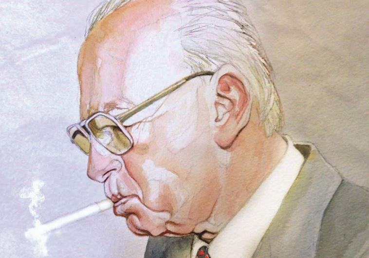 יצחק רבין, איור, מיברג