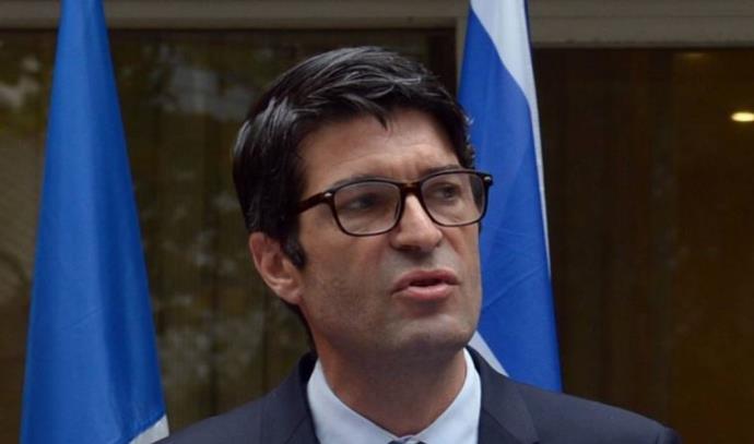 פטריק מיזונאב, שגריר צרפת בישראל