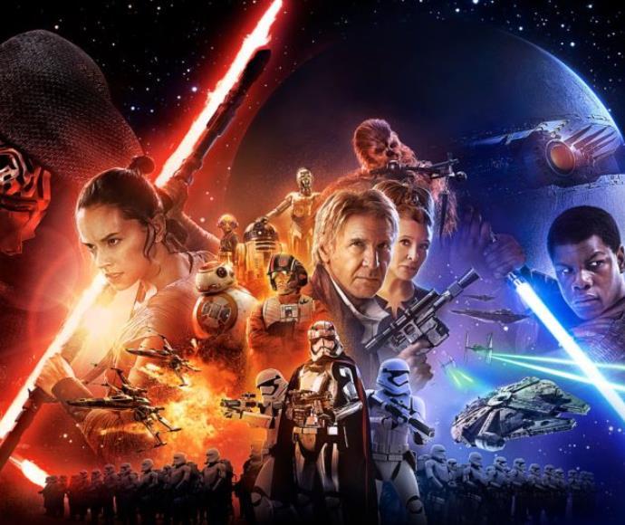 פוסטר מלחמת הכוכבים 7