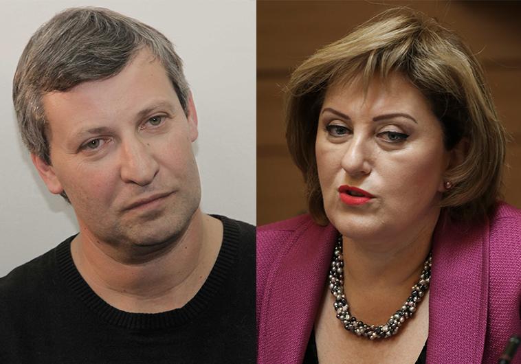 פאינה קירשנבאום וסטס מיסז'ניקוב. העדות של מסיקה עשויה להשפיע על גורלם. צילום: פלאש 90