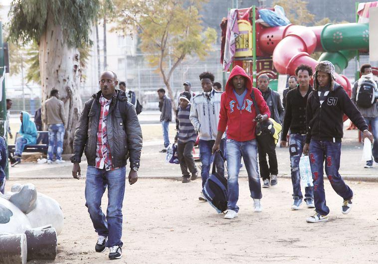 מבקשי מקלט בתל אביב, אריתראים